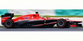 Marussia  - 2013 red/black - 1:43 - Spark - s3065 - spas3065 | Tom's Modelauto's