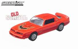 Pontiac  - 1977 orange - 1:64 - GreenLight - 44650B - gl44650B | Tom's Modelauto's