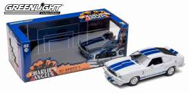 Ford  - Mustang Cobra II 1976 white/blue - 1:18 - GreenLight - 12880 - gl12880 | Toms Modelautos