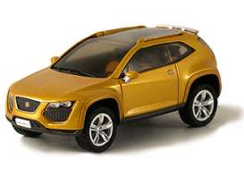 Seat  - 2007 orange - 1:43 - Norev - pm0005 - norpm0005 | Toms Modelautos