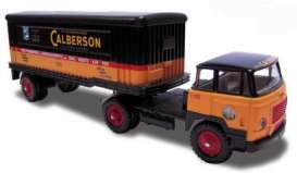 Unic  - black/orange - 1:43 - Norev - norc80410 | Tom's Modelauto's