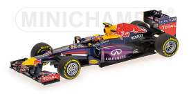 Red Bull Racing  Renault - 2013 blue - 1:43 - Minichamps - 410130002 - mc410130002 | Toms Modelautos