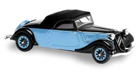 Citroen  - black/blue - 1:43 - Solido - 143125 - soli143125 | Toms Modelautos