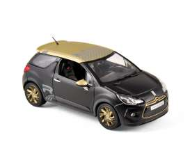 Citroen  - 2013 matt black - 1:43 - Norev - 155288 - nor155288 | Toms Modelautos