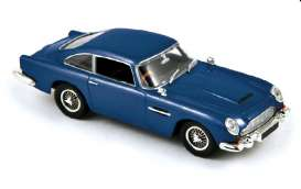 Aston Martin  - 1964 night blue - 1:43 - Norev - nor270504 | Tom's Modelauto's