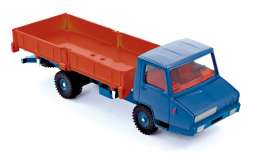 Berliet  - 1965 orange/blue - 1:43 - Norev - C80251 - norC80251 | Toms Modelautos