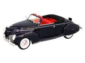 Lincoln  - 1939 blue - 1:32 - Signature Models - sig32333b | Tom's Modelauto's