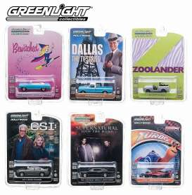 Ford  - 1964 silver - 1:64 - GreenLight - 44660C - gl44660C | Tom's Modelauto's