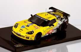 Corvette Chevrolet - 2010 yellow/ - 1:43 - IXO Models - ixlmm199 | Tom's Modelauto's