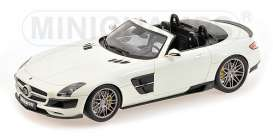 Brabus Mercedes Benz - 2012 pearl white - 1:18 - Minichamps - 107032130 - mc107032130 | Toms Modelautos