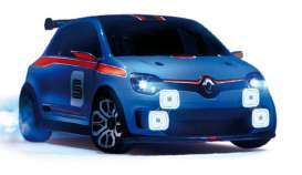 Renault  - Concept Twin Run 2013 blue - 1:43 - Norev - 517945 - nor517945 | Tom's Modelauto's
