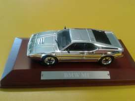 BMW  - M1 1978 chrome - 1:43 - Magazine Models - magCHRbmwM1 | Tom's Modelauto's