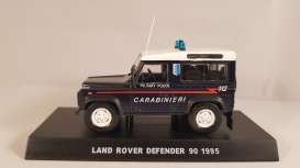 Land Rover  - Defender 90 1995 blue - 1:43 - Magazine Models - cara005 - magcara005 | Tom's Modelauto's