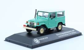 Triple9 Premium - Toyota  - T9P10011 : 1968 Toyota Bandeirante (Land Cruiser FJ40), green with white roof and black interior.