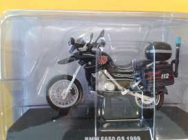 BMW  - 650 GS blue - 1:24 - Magazine Models - 025 - magcara025 | Tom's Modelauto's