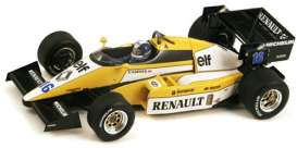 Renault  - 1984 yellow - 1:43 - Spark - S3850 - spaS3850 | Tom's Modelauto's
