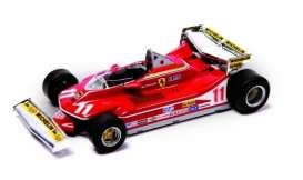 Ferrari  - 1979 red/white - 1:43 - Magazine Models - Fer312T4 - MagKFer312T4 | Toms Modelautos