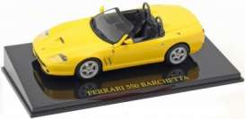 Ferrari  - 2000 yellow - 1:43 - Magazine Models - Fer550Y - MagkFer550Y | Toms Modelautos
