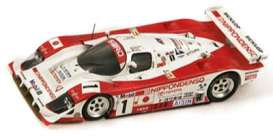Toyota  - 1994 red/white - 1:43 - Spark - s1378 - spas1378 | Tom's Modelauto's