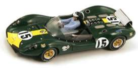 Lotus  - 1964 green - 1:43 - Spark - s2187 - spas2187 | Tom's Modelauto's