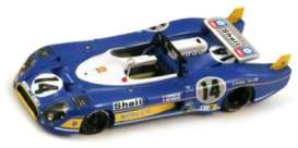 Matra  - 1973 blue - 1:43 - Spark - s3552 - spas3552 | Tom's Modelauto's