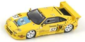 Venturi  - 1993 yellow - 1:43 - Spark - s2252 - spas2252 | Tom's Modelauto's