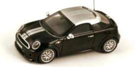 Mini  - 2012 black - 1:43 - Spark - s2648 - spas2648 | Tom's Modelauto's