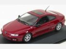 Peugeot  - 1996 lucifer red - 1:43 - Minichamps - 430112620 - mc430112620 | Toms Modelautos