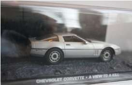 Magazine Models - Chevrolet Corvette - magJBcorv : Chevrolet Corvette James Bond *A View to A Kill*, silver