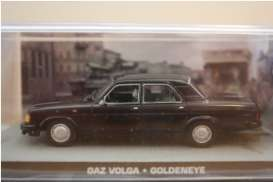 Magazine Models - GAZ  - magJBgaz : Gaz Volga James Bond *Goldeneye*, black