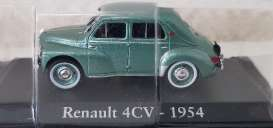 Renault  - 1954 green metallic - 1:43 - Magazine Models - RE4cv1954 - magRE4cv1954 | Toms Modelautos