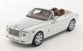 Kyosho - Rolls Royce  - kyo5532EW : 2012 Rolls Royce Phantom Drophead Coupe, english white