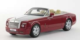Kyosho - Rolls Royce  - kyo5532ER : 2012 Rolls Royce Phantom Drophead Coupe, ensign red
