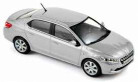 Peugeot  - 2013 silver - 1:43 - Norev - 473102 - nor473102 | Toms Modelautos