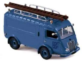 Renault  - 1961 blue - 1:43 - Norev - 518548 - nor518548 | Tom's Modelauto's
