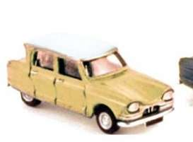Citroen  - 1964 yellow - 1:87 - Norev - 153517y - nor153517y | Tom's Modelauto's