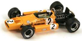 McLaren  - 1968 orange - 1:43 - Spark - s3116 - spas3116 | Tom's Modelauto's