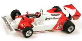 Alfa Romeo  - 1981 white/red - 1:43 - Spark - s3874 - spas3874 | Tom's Modelauto's