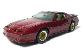 Pontiac  - 1989 flame red metallic - 1:18 - GreenLight - 12810 - gl12810 | Toms Modelautos