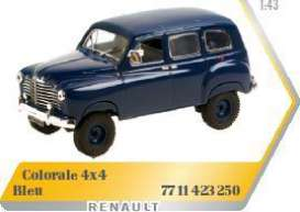 Renault  - 1952 dark blue - 1:43 - Norev - 7711423250 - nor7711423250 | Toms Modelautos