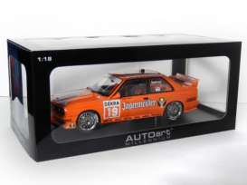 BMW  - 1992 orange - 1:18 - AutoArt - 89248 - autoart89248 | Toms Modelautos