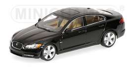 Jaguar  - 2007 metallic black - 1:43 - Minichamps - 400130700 - mc400130700 | Toms Modelautos