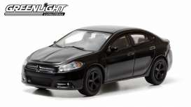 GreenLight - Dodge  - gl27730E : 2013 Dodge Dart GT *Black Bandit Series 9*