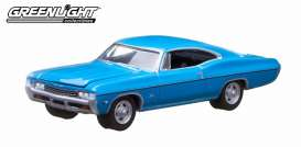 Chevrolet  - 1968 blue - 1:64 - GreenLight - 29788 - gl29788 | Toms Modelautos