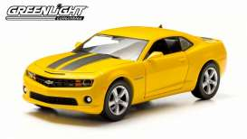 Chevrolet  - 2011 yellow with black stripes - 1:24 - GreenLight - 18219 - gl18219 | Toms Modelautos