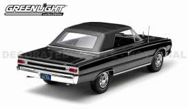 Plymouth  - 1967 black - 1:18 - GreenLight - 19007 - gl19007 | Toms Modelautos