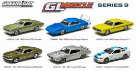 Assortment/ Mix  - various - 1:64 - GreenLight - 13090 - gl13090 | Toms Modelautos