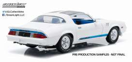 Chevrolet  - 1978 white with blue stripes - 1:18 - GreenLight - 12903 - gl12903 | Toms Modelautos