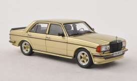 Mercedes Benz  - 1984 gold - 1:43 - NEO Scale Models - 45537 - neo45537 | Toms Modelautos