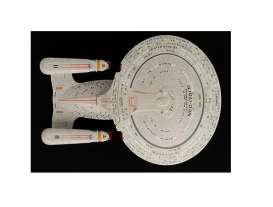 Star Trek  - grey-brown - Magazine Models - Startrek001 - magStartrek001 | Tom's Modelauto's